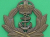 KK 1158. Royal Naval Division 1914-1919. Officers bronce cap badge, lugs 67x62 mm.