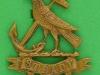 KK 1165. The 7th Hood Battalion collar badge. Disc Gaunt replaced lugs 26x33 mm.