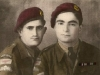 Sgt Dankha Yaco and Sgt, later RAB 50 Awia Yacoub Two Levies para wearing the circle badge