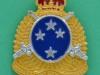 New Zealand Army Logistic Regiment collar badge, 27 x 33mm