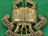Army Educational Corps ww2 cap badge, 45 x 48mm (1)