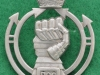 Royal Armoured Corps cap badge, 39 x 49mm (1)
