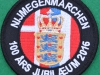 Nijmegen 100 anniversary patch Danish Delegation