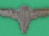CO3490. Zimbabwe Army Para wing 1980. 65x28 mm.