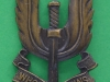 KK 2061. Special Air Service post 1947. 24x43 mm.