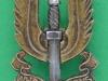 KK 2061. Special Air Service post 1947. Bim cap badge. Replaced slide 22x41 mm.