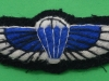 Special Air Service, padded cloth parachute wing ww2 issue. 24x78 mm