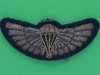 Special Air Service para wing Gold parachute and silver wings. 63x26 mm