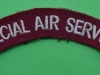 Special Air Service shoulder title. Modern issue. 125x20 mm (1)