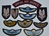 Special Air Service. Post war beret badges and wings