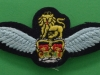 Army Air Corps late 1970ies production. Helicopter pilot wing. 100x40 mm.