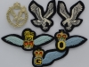 Army Air Corps metal and cloth badges late 1970ties.