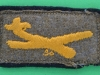 Glider Troops patch late ww2 issue. 55x30 mm.