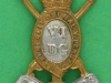 CW10. The Carabiniers (6th Dragoon Guards) Collar badge 34x31 mm.