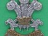 CW6, 3rd Carabiniers collar badge 29x35 mm.