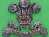 KK 739a. 3rd Dragoon Guards (Prince of Wales) arm badge, 3 lugs 50x42 mm.