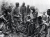3/10 GR Gurkha Rifles inspect Japanese gelignite bombs on captured hill  Scraggy  Burma, 1944