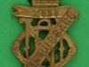 KK 1905. 13th/18th Royal Hussars. (collar badge) lugs 16x29 mm.