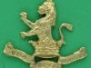 CW11. 7th Dragoon Guards. Collar badge 40x34 mm.