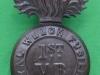 1st Volunteer Battalion Royal Welch Fusiliers. BP & Co Ltd Bham. Slide 24x41 mm.