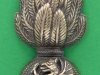 CW186. Royal Welsh Fusiliers. Officers collar badge bronce with overlay. 25x57 mm.