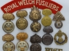 Royal Welch Fusiliers badges