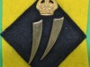 11th Battalion Kings African Rifles. Arabic numeral Two parts badge. 19x45 mm.