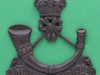 BC427. Kings African Rifles 1901. Officers bronce badge. Firmin lugs 37x42 mm. (2)