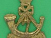 BC434. 7th Battalion the Kings African Rifles. Cast with incorporated lugs. 34x48 mm.