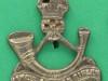 BC469. Kings African Rifles, Turban badge pin 24x27 mm.
