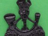 BC475. 1st Battalion Kings African Rifles. Turban badge pin 24x27 mm.