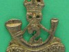 BC477. 2nd Battalion Kings African Rifles. Turban badge pin 24x27 mm.