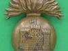 KK 632. Royal Inniskilling Fusiliers. All brass economy 1916 badge. Slide 34x40 mm.