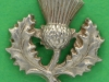 CW318. 14th Battalion The London Scottish. Right collar badge.  23x23 mm.