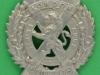 KK 1840. 14th Battalion London Scottish. curved, 56x53 mm.