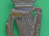 KK 1848. 18th County of London Battalion (London Irish Rifles) silvered, officers, slider 25x51 mm.