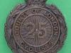 KK 1857. 25th County of London Cyclist Battalion. Slide 33x44 mm.