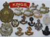 The Kings Liverpool Regiment badges.