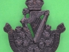 KK 1704. 8 Irish Battalion Kings Liverpool Regiment. Slide 40x42 mm.
