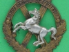 KK 1706. 10th Liverpool Scottish Battalion. Probably collar badge 1914. Pin 34x33 mm.