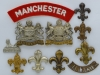 The Manchester Regiment badges