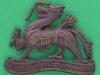 CW236. Royal Berkshire Regiment, Princess Charlotte of Wales collar badge. 32x26 mm.