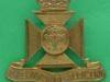 KK 2013. The Wiltshire Regiment 1956. Cypher of prince Phillip, slide Gaunt, 42x38 mm.