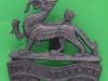 KK 667. The Royal Berkshire Regiment. Officers bronce cap badge. Slide Gaunt42x41 mm.