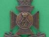 KK 676. The Wiltshire Regiment pre 1956. Officers bronce cap badge. Lugs 40x45 mm.