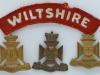 The Wiltshire Regiment badges