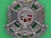 CW214. The Border Regiment collar badge post 1895. 30x31 mm.