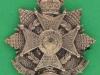 KK 645. The Border Regiment officers bronce badge. Folding blades 46x48 mm.
