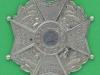 The Cumberland Regiment 1885 cros belt badge. 52 mm.