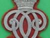 RC1241. 7th Queens Own Hussars, NCO arm badge. Lugs 35x54 mm. Original felt.